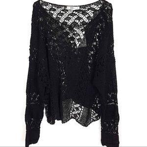 Zara Knit Open Knit Sweater (EUC)